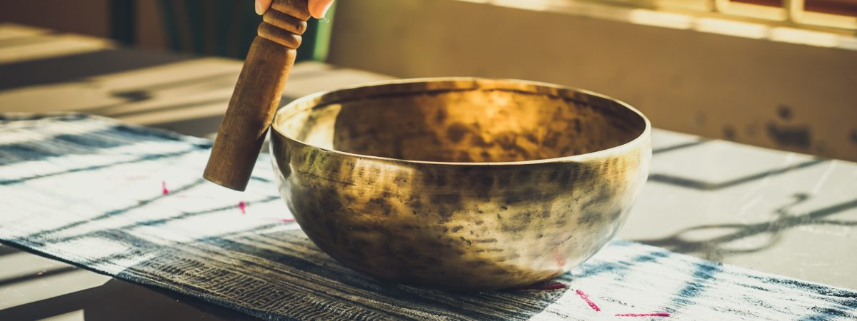 EXPLORING SOUNDS OF A SINGING BOWL
